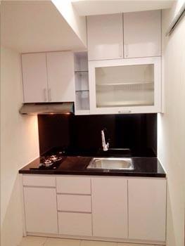 Paket Apartemen Studio Gunawangsa Kitchenset Apartemen Kitchen